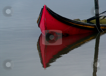 Mirror stock photo, Boat reflection by Rui Vale de Sousa