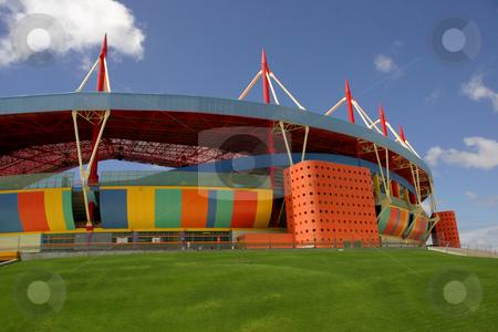 Stadium stock photo, Stadium detail by Rui Vale de Sousa