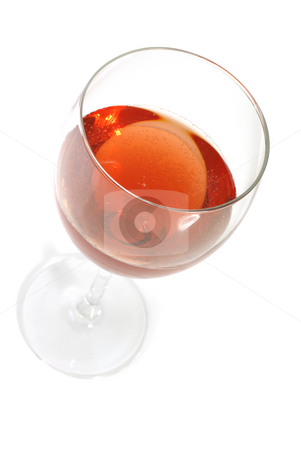 Wine stock photo, Red wine in a glass isolated on white by Rui Vale de Sousa