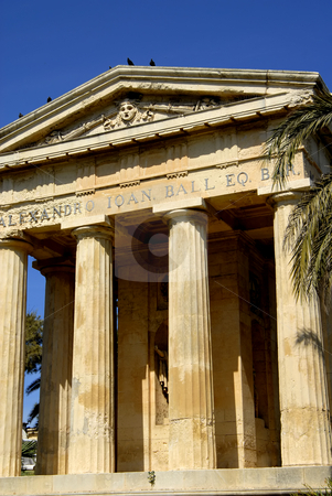 Ancient stock photo, Ancient greek architecture in the island of malta by Rui Vale de Sousa