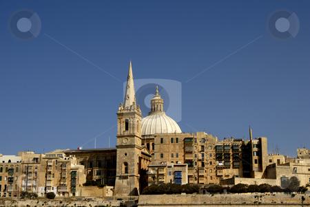 Valleta stock photo, Old town of Valleta in the island of Malta by Rui Vale de Sousa