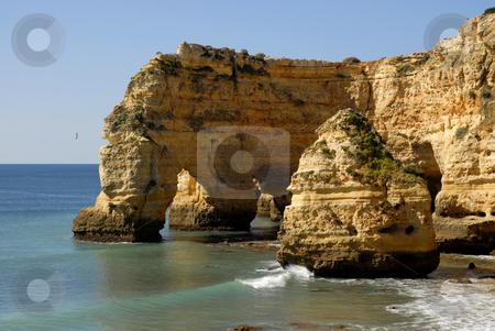 Beach stock photo, Portuguese Algarve beach, the south of the country by Rui Vale de Sousa