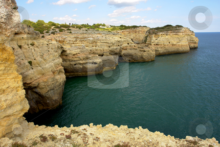 Algarve stock photo, Coastal view at algarve in the south of portugal by Rui Vale de Sousa