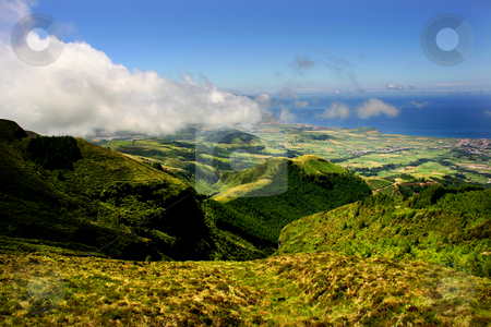 Azores stock photo, Azores landscape view at sao miguel island by Rui Vale de Sousa