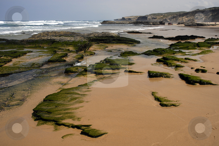 Beach stock photo, Beach at algarve in the south of portugal by Rui Vale de Sousa