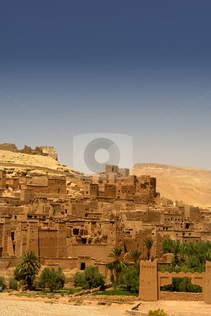Ait benhaddou stock photo, Ancient city detail of ait benhaddou, morocco by Rui Vale de Sousa