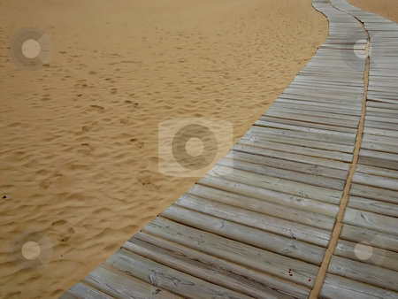 Sand stock photo, Sand path by Rui Vale de Sousa