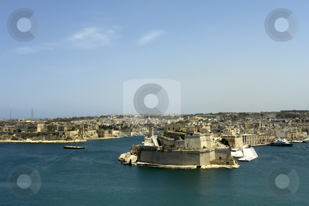 Valetta stock photo, Valetta harbor view, Capital of Malta island by Rui Vale de Sousa