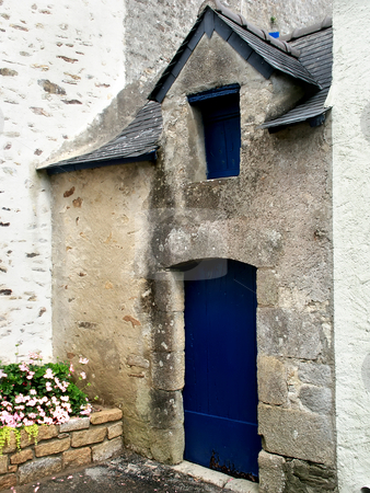 Small stock photo, Old typical house in brittany, north of france by Rui Vale de Sousa