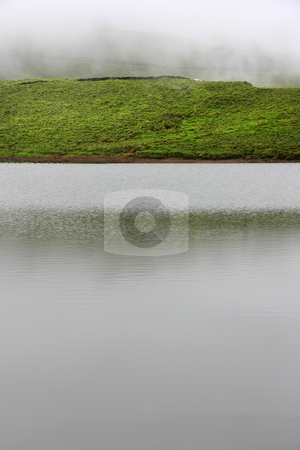 Lake stock photo, Azores small lake at sao miguel island by Rui Vale de Sousa