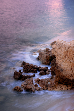 Ocean stock photo, Slow shutterspeed picture at the coast of spain by Rui Vale de Sousa