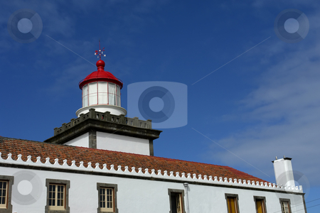 Lighthouse stock photo, Ancient lighthouse in s miguel island, azores by Rui Vale de Sousa
