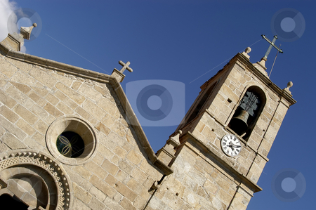 Church stock photo, Typical portuguese church detail in the north of the country by Rui Vale de Sousa