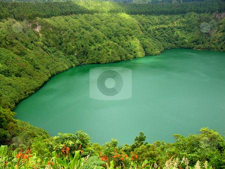 Lake stock photo, Azores lake of sao goncalo in sao miguel island by Rui Vale de Sousa