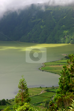 Lake stock photo, The seven lake city in azores island by Rui Vale de Sousa