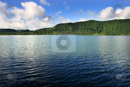 Reflection stock photo, Azores lakes by Rui Vale de Sousa