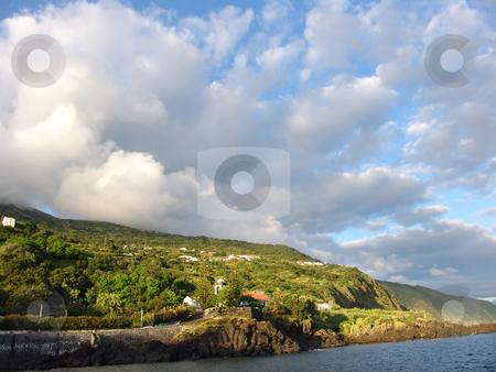 Island stock photo, Land and the ocean by Rui Vale de Sousa