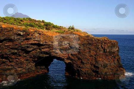 Path stock photo, Path in the rocks by Rui Vale de Sousa
