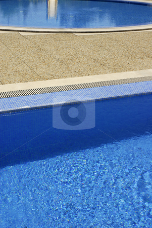Water stock photo, Swimming pool blue water in a summer day by Rui Vale de Sousa