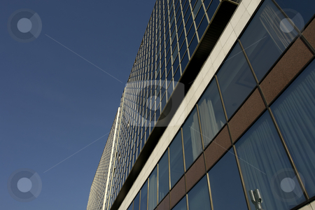 Modern stock photo, Modern building in prague by Rui Vale de Sousa