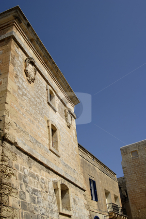 Medieval stock photo, Baroque Architecture on medieval building in the island of Malta by Rui Vale de Sousa