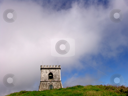 Castle stock photo, Azores white castle at sao miguel island by Rui Vale de Sousa