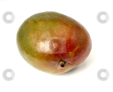 Mango stock photo, The mango fruit isolated on white background by Rui Vale de Sousa