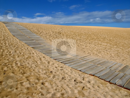 Path stock photo, Sand path by Rui Vale de Sousa