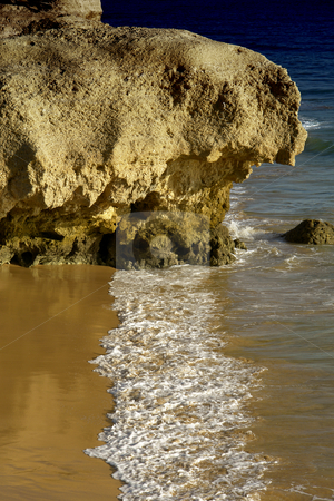 Beach stock photo, Portuguese Algarve coast, the south of the country by Rui Vale de Sousa