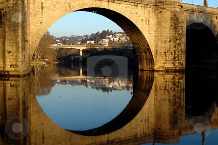 Bridge stock photo, Ancient bridge of amarante in the north of portugal by Rui Vale de Sousa