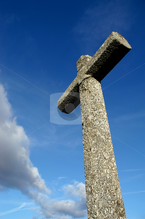 Cross stock photo, Ancient cross detail by Rui Vale de Sousa