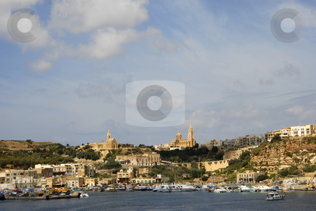 Gozo island stock photo, Ancient architecture of gozo island in malta by Rui Vale de Sousa