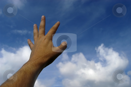 Open stock photo, Hand in the sky by Rui Vale de Sousa