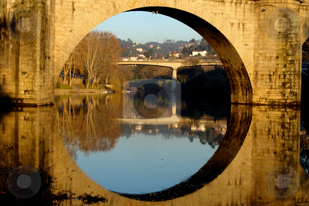 Ancient stock photo, Ancient bridge of amarante in the north of portugal by Rui Vale de Sousa