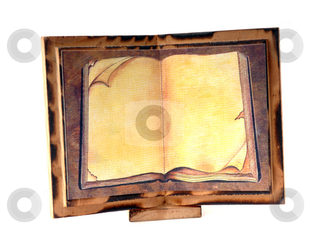 Frame stock photo, Wood frame detail in a white background by Rui Vale de Sousa