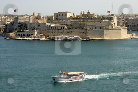 Malta stock photo, Valetta harbor view, Capital of Malta island by Rui Vale de Sousa
