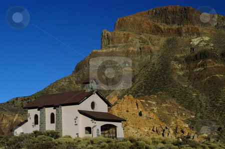 Church stock photo, Church in tenerife island at el teide mountain by Rui Vale de Sousa