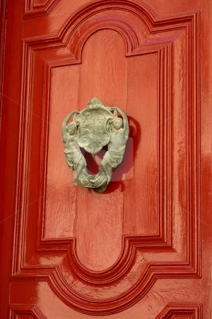 Door stock photo, Door knob on one of the doors at Mdina, Malta by Rui Vale de Sousa