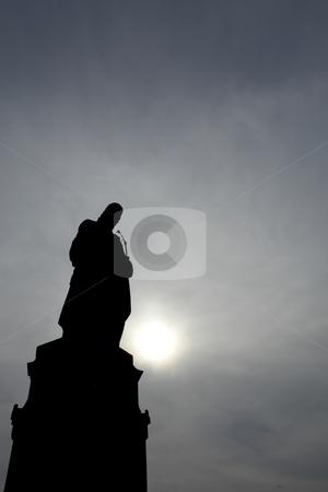 Statues stock photo, Staue silhouette in prague by Rui Vale de Sousa