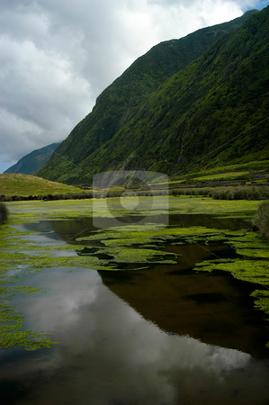 Azores stock photo, The azores lake of Christ in S. Jorge Island by Rui Vale de Sousa
