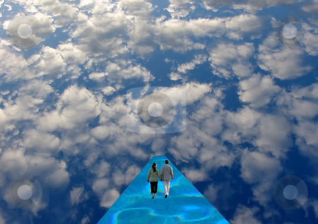 Unknown stock photo, Passage in the sky by Rui Vale de Sousa