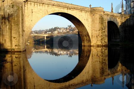 Bridge stock photo, Ancient roman bridge in the north of portugal by Rui Vale de Sousa