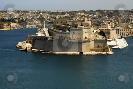 Malta stock photo, View of Valleta city in the island of malta by Rui Vale de Sousa