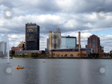 Toledo Ohio - Maumee River stock photo, Toledo Ohio - Maumee River. by Dazz Lee Photography