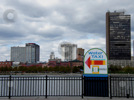 Water Taxi Sign - Toledo Ohio stock photo, Water Taxi Sign - Toledo Ohio by Dazz Lee Photography