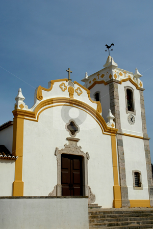 Church  stock photo, Typical portuguese church in algarve, south of the country by Rui Vale de Sousa