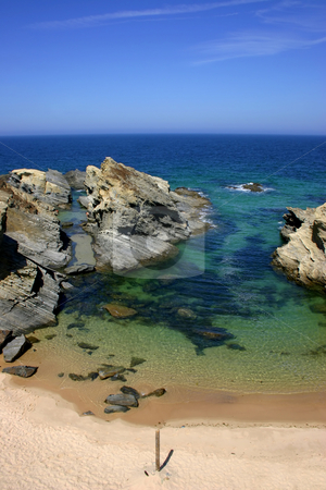 Beach stock photo, Typical  portuguese beach by Rui Vale de Sousa
