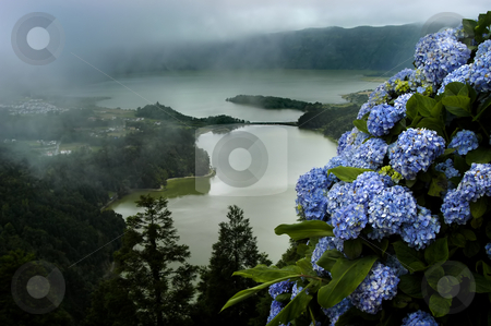 Lake stock photo, Seven town lake in sao miguel of azores by Rui Vale de Sousa