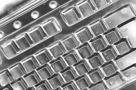 Keyboard stock photo, Keyboard detail by Rui Vale de Sousa