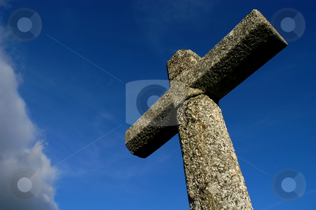Cross stock photo, Ancient portuguese cross by Rui Vale de Sousa